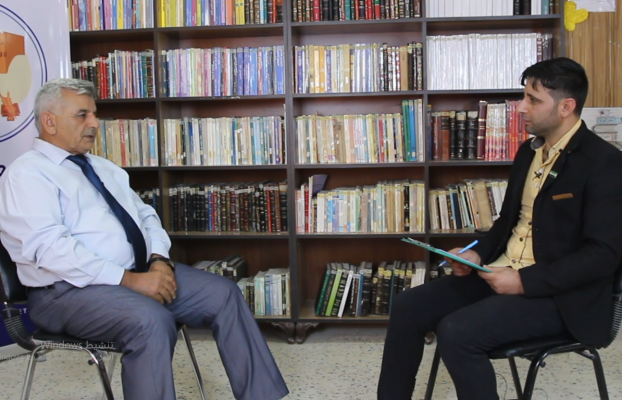 Video.. Üniversite rektörü ile yeni yıl için kayıt karşılaştırması hakkında konuşmak için bir toplantı
