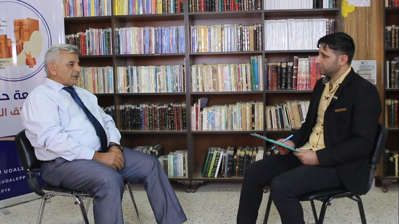 فيديو.. لقاء مع رئيس الجامعة للحديث عن مفاضلة التسجيل للعام الجديد