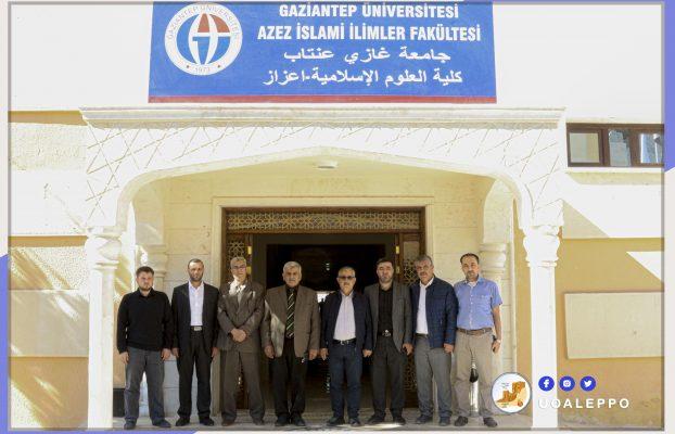 بهدف تعزيز التعاون.. زيارة رئيس جامعة حلب لجامعة غازي عينتاب